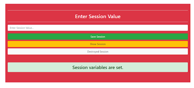 session variables are set | vrsavani | session img