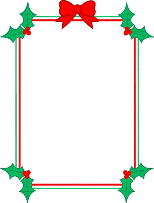 Bordes Decorativos: Bordes decorativos de Navidad para