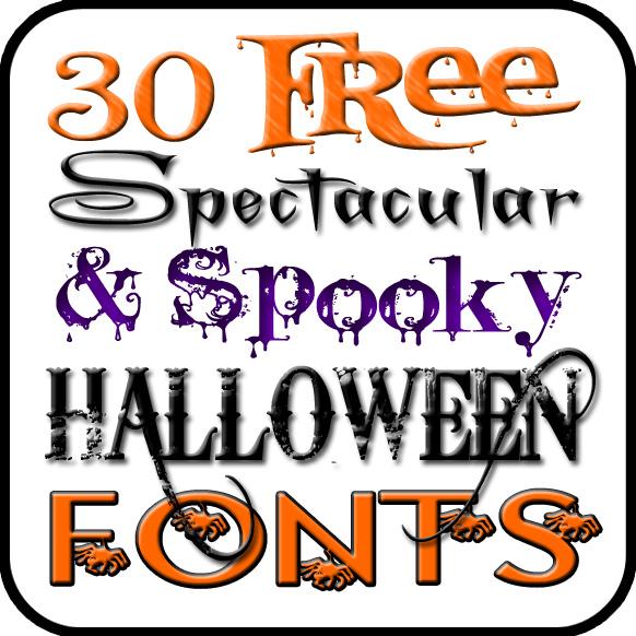 free halloween fonts # 5