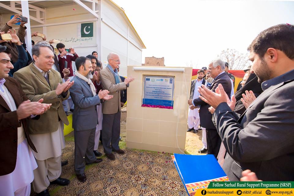 Prefabricated schools in Khyber Agency FATA