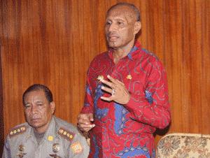 Walikota Tutup Magang Satpol Pp Kabupaten Yalimo Di Pemkot Jayapura Dharapos Papua