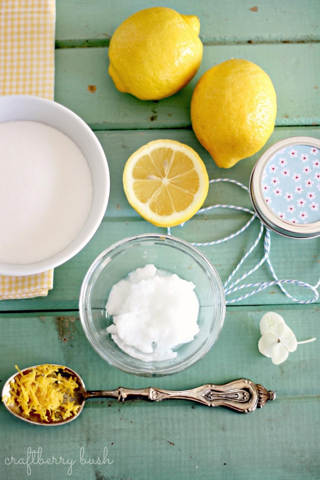 Easy Diy Sugar Scrub: Super Easy Sugar Lemon Scrub Recipe