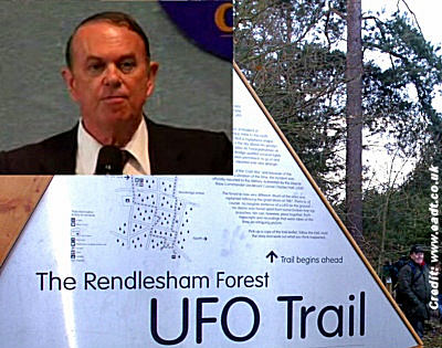 Rendlesham UFO Incident: Eyewitness, Colonel Charles Halt Returns 35 Years On