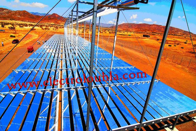 لكل من يريد فهم كيفية عمل محطة الطاقة الشمسية وما هي مساحة الأرض التي تحتاجها محطة الطاقة الشمسية الحرارية ؟