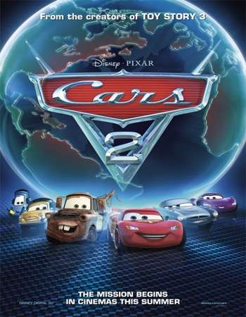 Cars 2 2011 Hindi Dub 300mb Dual Audio Full Movie 720p HEVC In HD Download Free Download Watch Online downloadhub.in