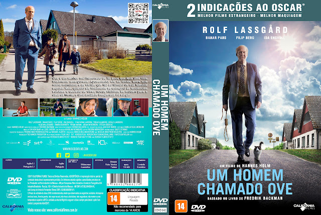 Capa DVD Um Homem Chamado Ove [Exclusiva]