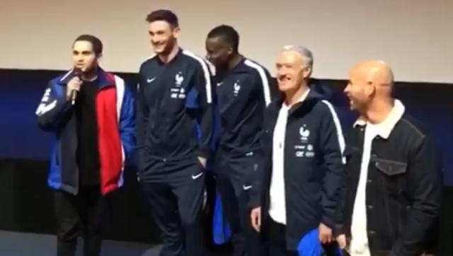 Quand Malik Bentalha imite Nasser Al-Khelaïfi devant les Bleus