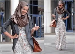 Model Terbaru Baju Muslim Untuk Wanita Kurus Modis Dan Trendy