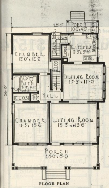 gordon van tine 573 517 floor plan sears hazelton lookalike