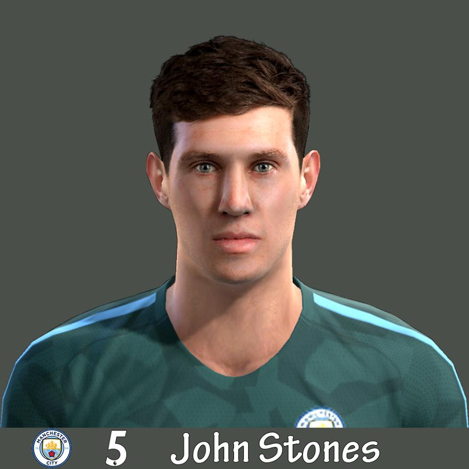Ultigamerz Pes 2010 Pes 2011 Face: Ultigamerz: PES 2013 John Stones (Manchester City) Face