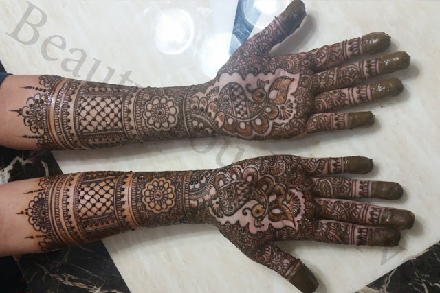 Latest Dulhan Mehndi Designs