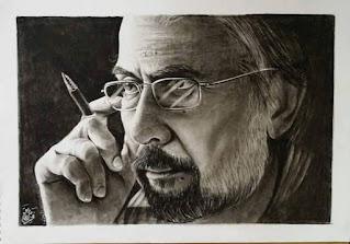 رسم ممثل عراقي