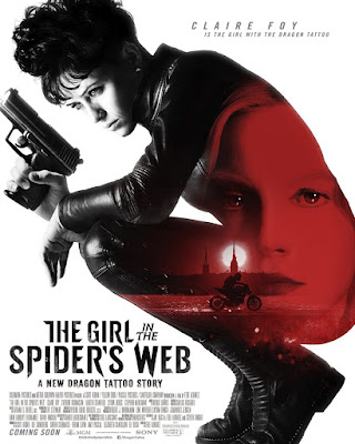 The Girl In The Spiders Web Movie Poster 3