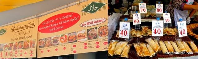 kuliner Halal murah di chatuchak Bangkok