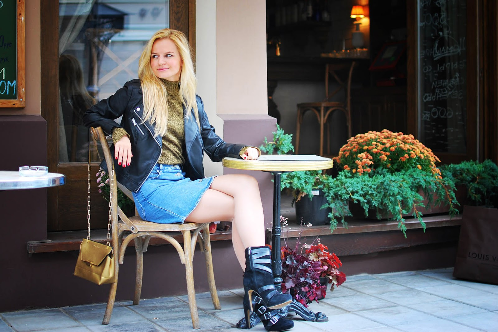 autumn outfit 2015, cafe look, costadelamoda, costa moda blog, осенние луки 2015