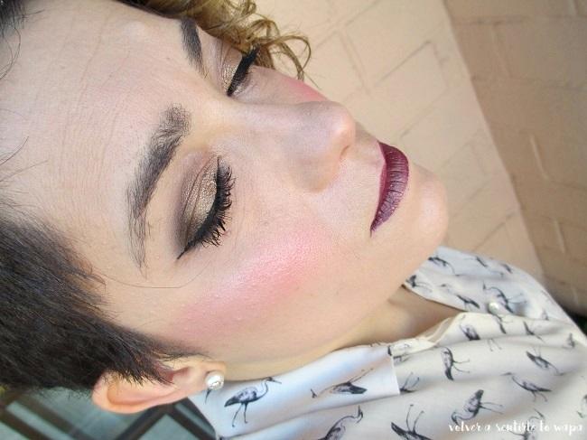 Maquillaje para fiestas low cost