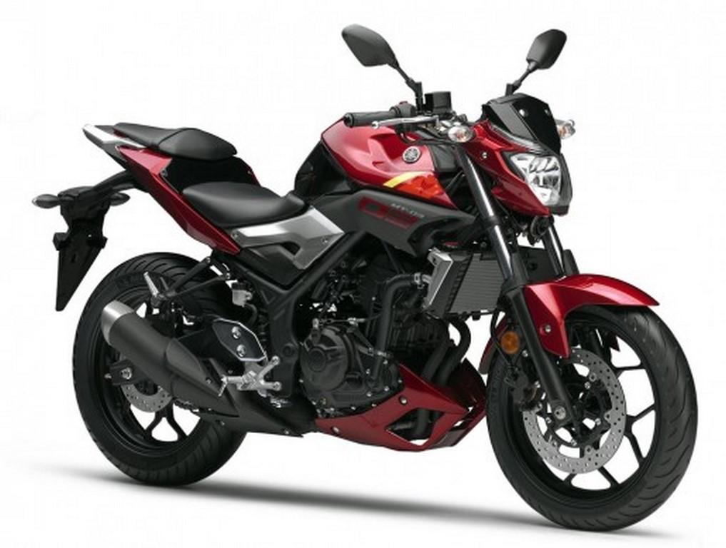 Yamaha MT 03 red