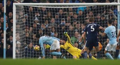 Manchester City vs Tottenham Hotspur 4-1
