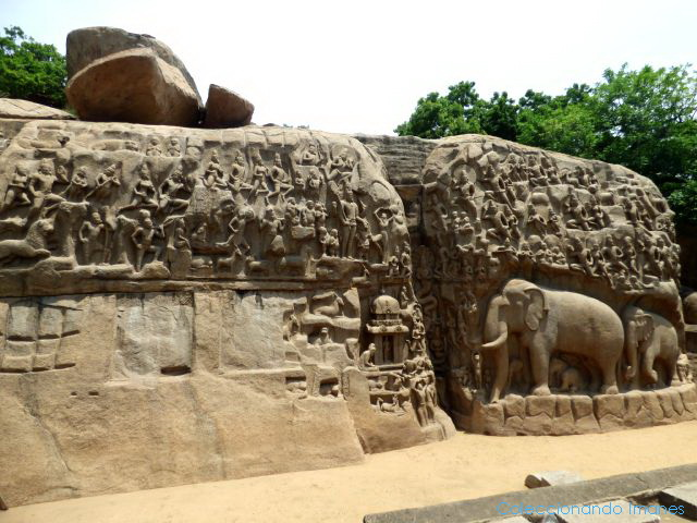 Penitencia de Arjuna Mahabalipuram