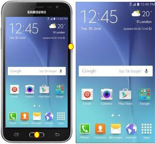 Cara Screenshot Samsung Galaxy J3