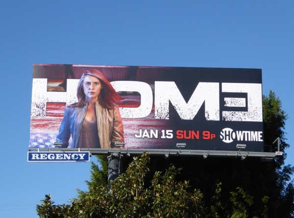 Homeland season 6 billboard