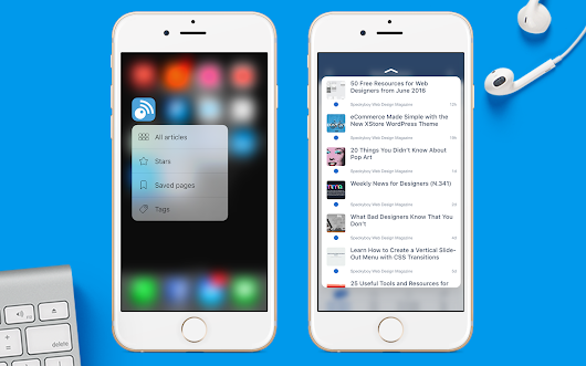 3D Touch comes to Inoreader 4.8 for iOS