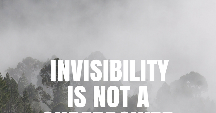 the zen rn invisibility is not a superpower