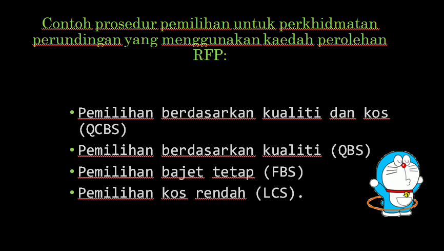 Fatin Nur Adilah : CARRY OUT PROCUREMENT ACTIVITIES (RFP/RFQ)