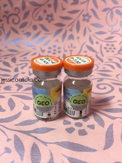 Review : GEO Super Magic Color circle lens from SugarLens by Jessica Alicia