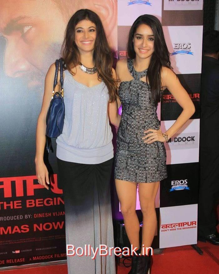 Pooja Mishra, Shraddha Kapoor, Hot Pics of Sonakshi Sinha, Shraddha Kapoor At 'Badlapur' Success Bash