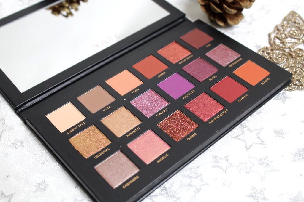 Huda Beauty Desert Dusk Palette Review