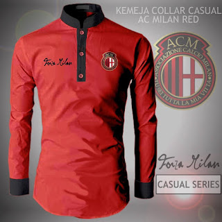 Kemeja Distro Bola AC Milan
