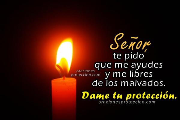 Oración de Protección y Liberación. Oraciones cortas a Dios que me protege, me libra del mal, frases, imágenes con plegarias poderosas de liberación del enemigo por Mery Bracho.