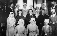 H. Burjan - Erste Mitglieder der  Schwesterngemeinschaft  Wien 13. Bezirk, 1922 © CS