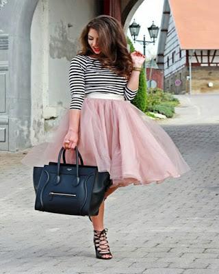 Outfits con faldas de TUL que jamas haz visto