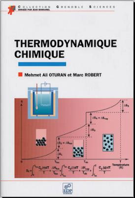 Télécharger Livre Gratuit Thermodynamique chimique pdf
