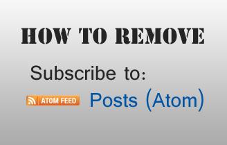 Cara Praktis Menghapus Subscribe to Post Atom Cara Praktis Menghapus Subscribe to Post Atom