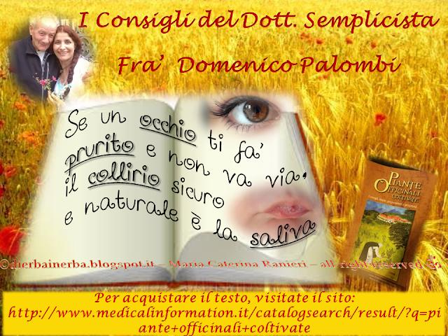 """Prurito oculare e... """"I Consigli del Dottor Semplicista©"""""""