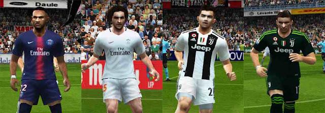 8f71da31b ultigamerz  PES 6 Juventus   PSG 2018 19 Kits