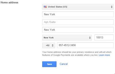 Stiker bbm gratis - konfigurasi google wallet