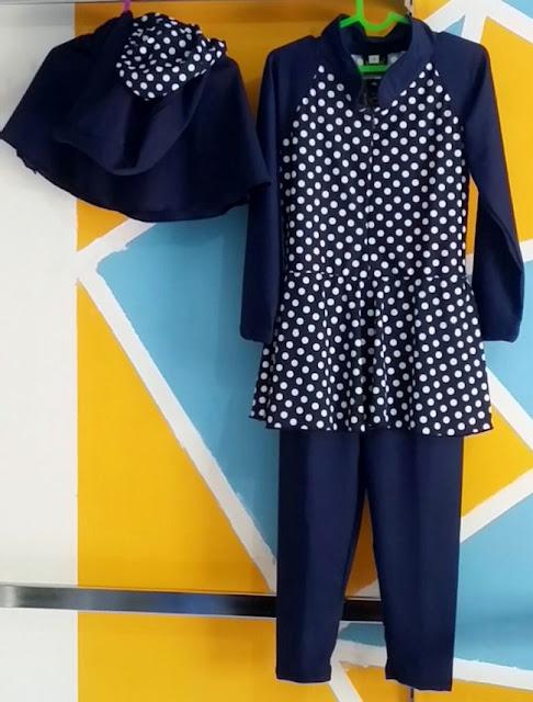 produsen pakaian renang muslimah (perempuan)