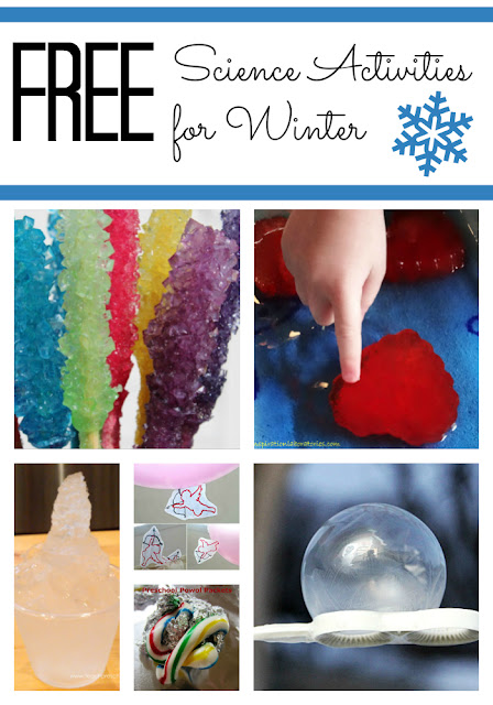 Free Science Activities for Kids to do in Winter