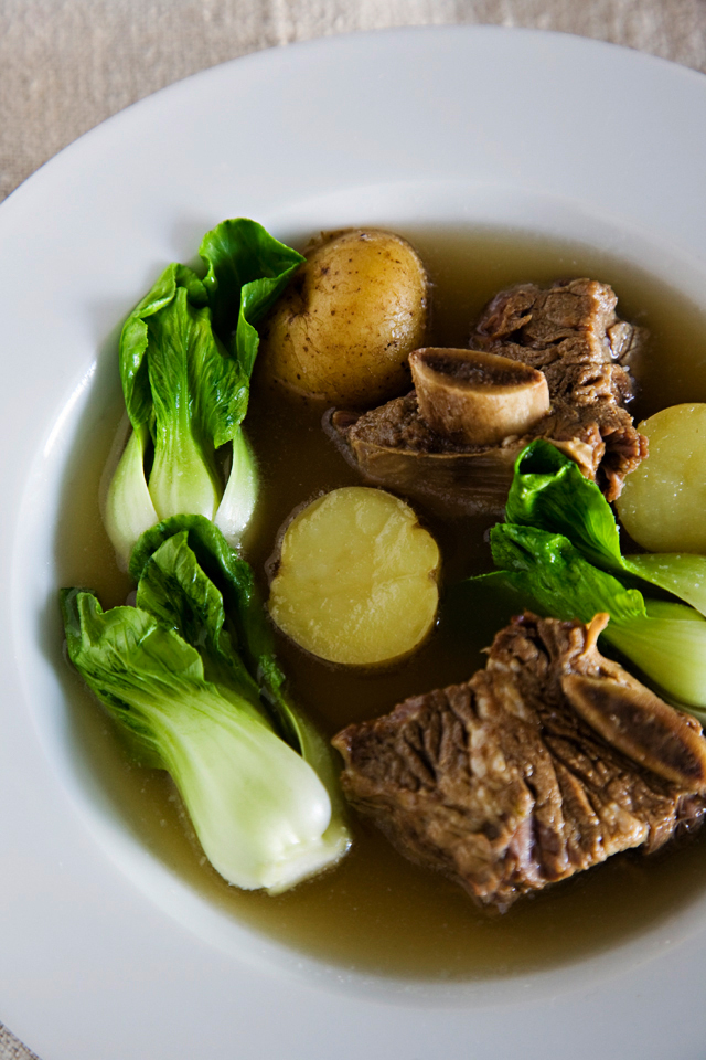 Filipino Recipes Beef Short Ribs Stewed in Broth - All ...