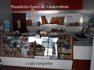 guarc,Valderrobres, pan, casquetas,casquetes,pastas,horno,panadería