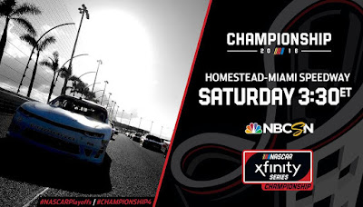 #NASCAR Xfinity Series - Championship Schedule #NXS