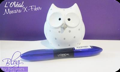 Nouveautés Beauté L'Oréal mascara x fiber