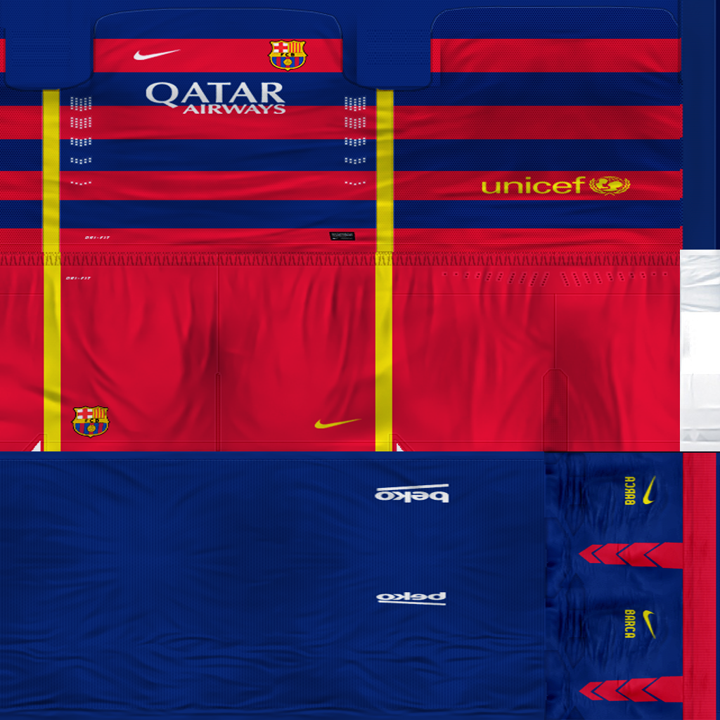 Ultigamerz Pes 2010 Pes 2011 Face: Ultigamerz: FC BARCELONA KIT 2015-16 PES 6