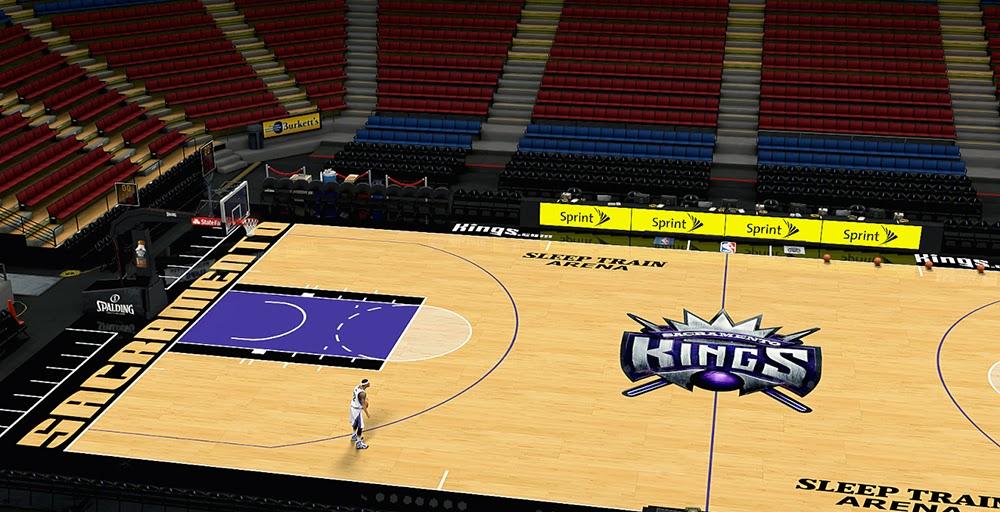 Nba 2k14 Sacramento Kings New Court Hd Texture Mod