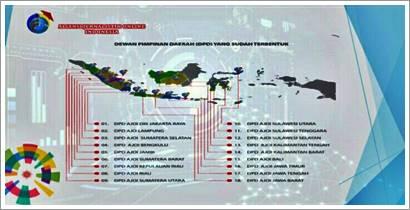 Ketum AJO Indonesia Lantik Kepengurusan DPD AJOI Kepri