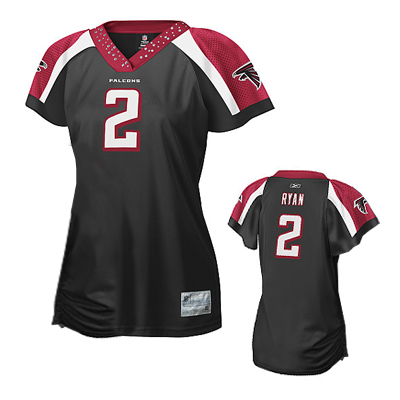 1eab266a Women's Atlanta Falcons 2 Matt Ryan Limited White Jersey